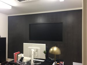 Office Painting Melbourne Black