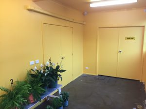 Yellow Office Wall