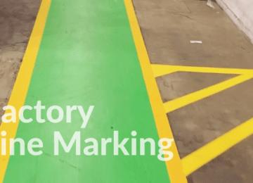 Factory Line Marking