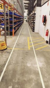 Factory Line Marking